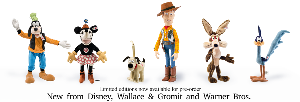 New! Minnie Mouse Goofy Gromit Woody Wile E Coyote Road Runner