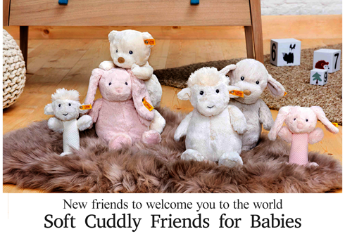 Shop New Steiff Soft Cuddly Friends for Babies