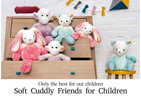 Shop New Steiff Soft Cuddly Friends for Children