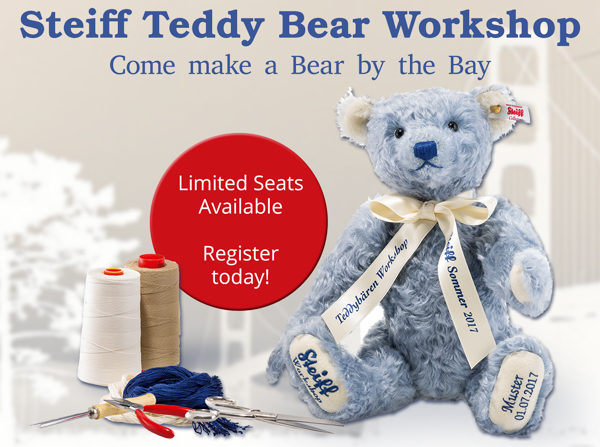 Steiff 2017 Teddy Bear Workshop